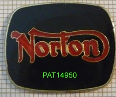 MOTO NORTON  Le LOGO En Version EPOXY - Motorräder