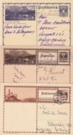 Österreich 3 Postkarten 1930 - Covers & Documents