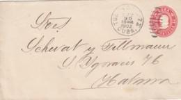 Cuba Enveloppe 1902 - Cuba