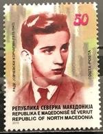 Macedonia, 2019, The 100th Anniversary Of The Birth Of Rade Jovchevski Korchagin, 1919-1943 (MNH) - Macédoine