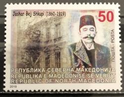 Macedonia, 2019, The 100th Anniversary Of The Death Of Jashar Bej Shkupi, 1860-1919 (MNH) - Macédoine