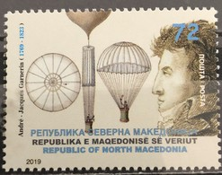 Macedonia, 2019, The 250th Anniversary Of The Birth Of André-Jacques Garnerin, 1769-1823 (MNH) - Macédoine