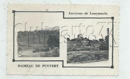 Puyvert (84) : 2 Vues Du Hameau En 1955 PF. - Otros Municipios