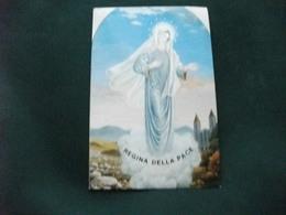 SANTINO HOLY PICTURE IMAGE SAINTE REGINA DELLA PACE - Religione & Esoterismo