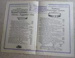 Catalogue Grande Lutherie De France Augu & Cie - 1950 - Objets Dérivés