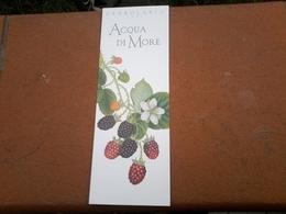 Carte L Erbolario Marque Page - Cartes Parfumées