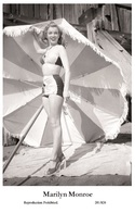 MARILYN MONROE - Film Star Pin Up PHOTO POSTCARD - 201-826 Swiftsure Postcard - Artistes