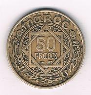 50 FRANCS 1371 AH MAROKKO 3144/ - Maroc