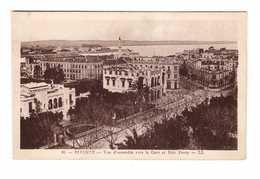 Tunisie Bizerte Vue D' Ensemble Vers La Gare Et Baie Ponty - Tunisie