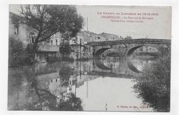 GERBEVILLER - LA GUERRE EN LORRAINE 1914 / 1918 - LE PONT SUR LA MORTAGNE - VIOLENT COMBAT - CPA NON VOYAGEE - Gerbeviller