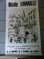 Affiche - Dijon - Nicole Lamaille Atelier De La Porte D' Ouche - Affiches
