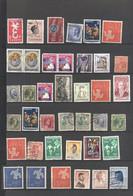 LUSSEMBURGO - LUXEMBOURG - Lotto - Accumulo - Vrac - 40 Francobolli - Nuovi E Usati - Vrac (max 999 Timbres)