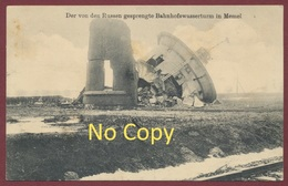 """Memel  Lituanie ( Klaipèda Lietuva ) """" Von Den Russen Gesprengte Bahnwasserturm...17 Und 19 Juni 1917 - Krieg 1914-18 - Lituanie"""