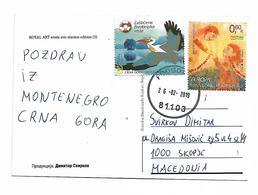 Montenegro Bird And Love Stamp - Montenegro