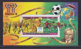 COMORES BLOC N°  26 ** MNH Neuf Sans Charnière (CLR464) Cosmos, Satellite, Vainqueurs Coupe Du Monde De Football -1978 - Comores (1975-...)