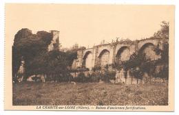 58 - LA CHARITÉ Sur LOIRE (Nièvre) - Ruines D'anciennes Fortifications - Edition Colin La Charité - Sépia - La Charité Sur Loire