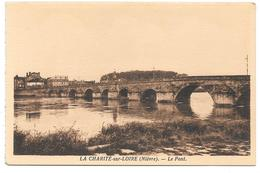 58 - LA CHARITÉ Sur LOIRE (Nièvre) - Le Pont - Edition Colin La Charité - Sépia - La Charité Sur Loire