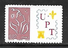 P174  Adhésif Marianne De Lamouche Personnalisé UPT N°3802Bb N++ - Frankreich