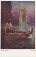 AK Hans Zatzka - Der Fischer - 1920 (40507) - Malerei & Gemälde