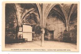 58 - LA CHARITÉ Sur LOIRE (Nièvre) - Intérieur De L'Eglise - Ancienne Salle Capitulaire - Ed. Colin La Charité - Sépia - La Charité Sur Loire