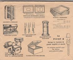 LSC 1953 - Enveloppe Illustrée Au Dos (outils De Dentistes) & Entête Fournitures Dentaires à LYON - Marcophilie (Lettres)