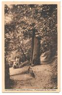 58 - LA CHARITÉ Sur LOIRE (Nièvre) - Promenades Du Parc Adam - Ed. Colin La Charité - Sépia - La Charité Sur Loire