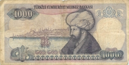 BILLET TURKIYE  1000 BANKASI - Turchia