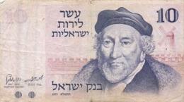 BILLET  ISRAEL 10 - Israel