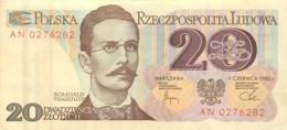 BILLET  POLOGNE POLSKA 20 - Pologne