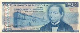 BILLET  EL BANCO DE MEXICO 50 PESOS - Mexico