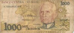 BILLET  BRASIL 1000 CRUZEIROS - Brazil