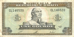 BILLET  HAITI UNE GOURDE - Haiti