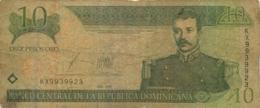 BILLET   REPUBLICA DOMINICANA 10  PESOS - Dominicaine