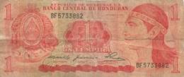 BILLET  HONDURAS 1 LEMPIRA - Honduras