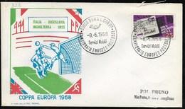 E639-ITALIA 1968 - COPPA EUROPA SOCCER 1968 - Fußball-Europameisterschaft (UEFA)