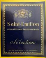 10211 - Saint Emilion Sélection Union Des Producteurs Format 12x15 - Bordeaux