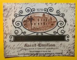 10230 - Château  Querey1978  Saint Emilion - Bordeaux