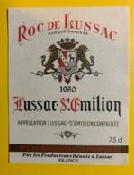 10255 - Roc De Lussac 1980 Lussac Saint Emilion - Bordeaux