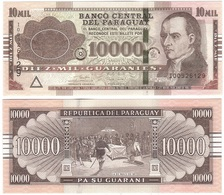 Paraguay - 10000 Guaranies 2017 UNC Lemberg-Zp - Paraguay