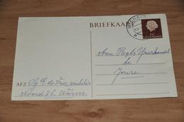 85-  BRIEFKAART VAN WINKELIER DE VRIES UIT WARNS - 1958 - Kaarten