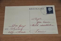 91-  BRIEFKAART SMEDERIJ DE GRAAF, NIJ-BEETS - 1955 - Kaarten