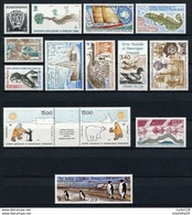 TAAF;1992;année Complète; TP N° 163 à 170 + PA N° 119 à 124 ;NEUFS**MNH - French Southern And Antarctic Territories (TAAF)