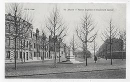 ARRAS - N° 12 - STATUE LEGRETTE ET BOULEVARD CARNOT - CPA NON VOYAGEE - Arras
