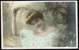 FEMME - 4 CP - Jeune Femme, Poses Différentes - Circulé  - Circulated  - Gelaufen - 1904. - Femmes