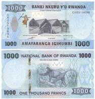 Rwanda - 1000 Francs 2019 UNC Lemberg-Zp - Rwanda