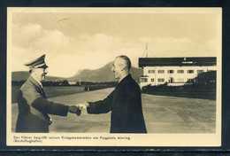 DR.; Führer Begrüßt Seinen Kriegskameraden Am Flugplatz Ainring; Um 1938 - Guerre 1939-45