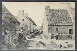 CPA 29 ILE DE BATZ - Une Rue Originale - ND 515 - Réf. F 130 - Ile-de-Batz