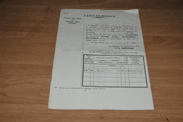 87-    TEN BOER, AANSLAGBILLET UIT 1858 - Oude Documenten