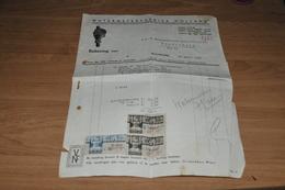 88-    REKENING VAN WATERMETERFABRIEK  HOLLAND, MAARTENSDIJK  UTRECHT - 1939 - Nederland
