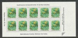 FINLANDE - 1999 - CARNET  YT C1448 - Facit MA1477 - Neuf ** MNH - Fleurs, Série Courante SVI - 1st Klass - Finland